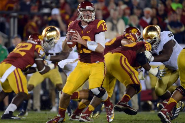 USC Football: Is Lane Kiffin Hedging His Bets with 2014 Quarterback Offers?
