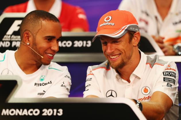 Hamilton Has Button's Backing