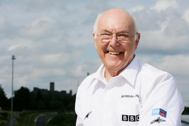 Murray Walker 'Very Hopeful' After Being Diagnosed with Lymphatic System Cancer
