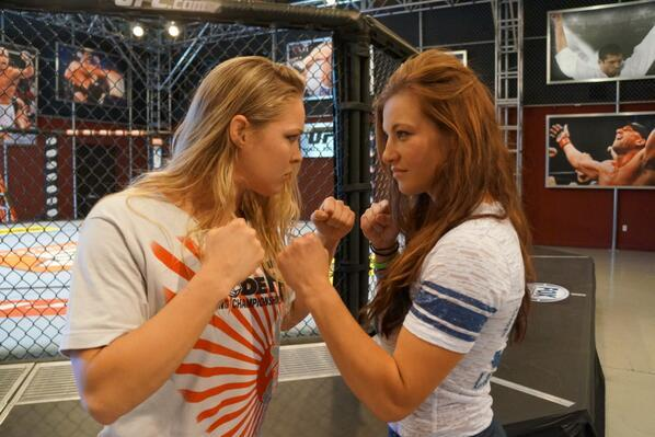TUF 18 Preview: Could Some Fighters Have Beef with Rousey and Tate?