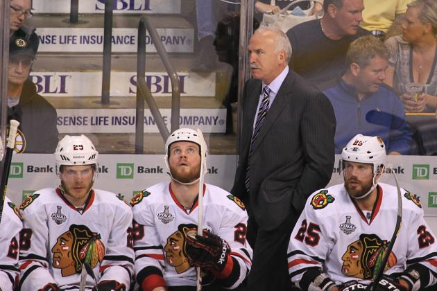 Chicago Blackhawks vs. Boston Bruins: Issues Joel Quenneville Must Address