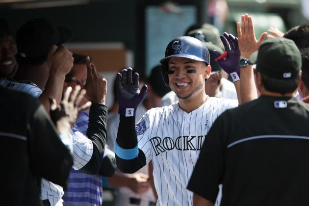 Rockies' Carlos Gonzalez Named National League Player of the Week