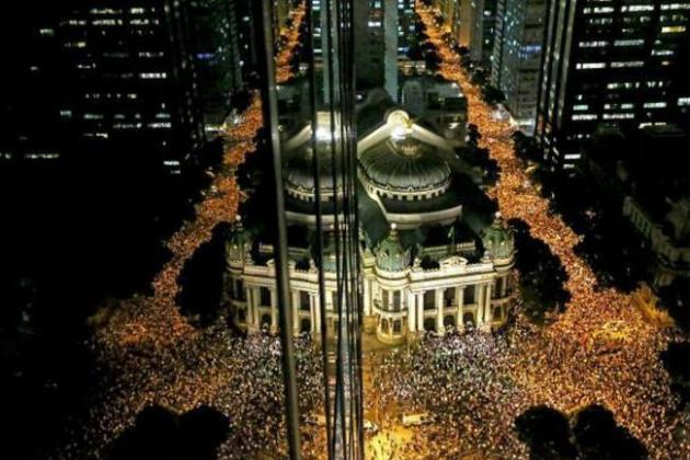Thousands Protest in Brazil over Rising Costs of 2014 World Cup