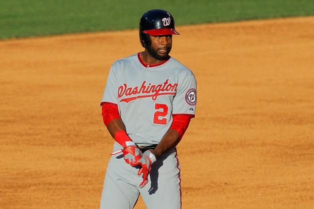 Why Denard Span Keeps Fouling Balls off His Foot