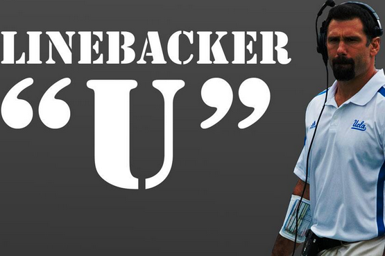 "Photo: UCLA Football Attempts to Steal ""Linebacker 'U'"""