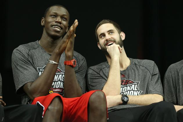 Gorgui Dieng Says Louisville Will Be Better Next Year