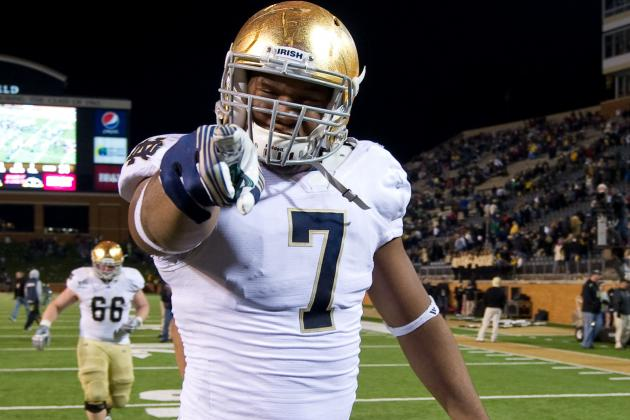 Notre Dame Football: Analyzing What Makes Stephon Tuitt so Dangerous