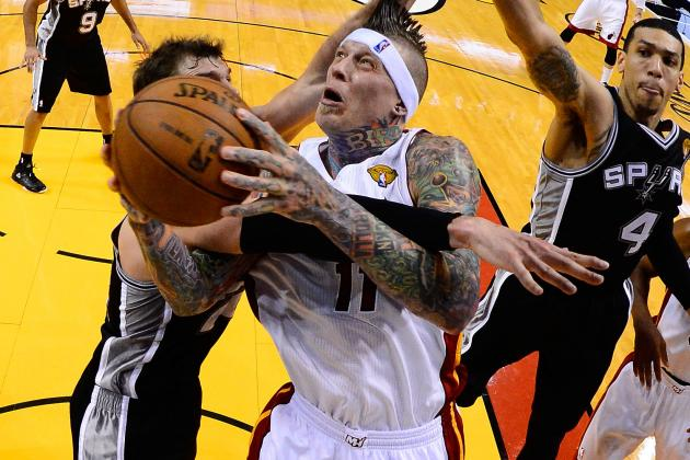 Heat's Chris Andersen Expected Back in Rotation in Game 6