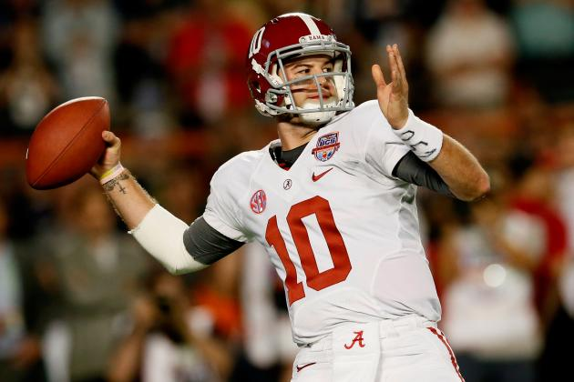 Breaking Down Alabama QB AJ McCarron's NFL Potential