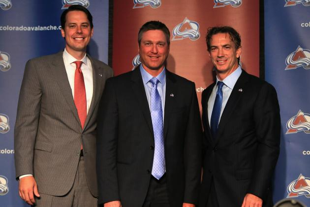 Sakic and Roy Return to Revive Team