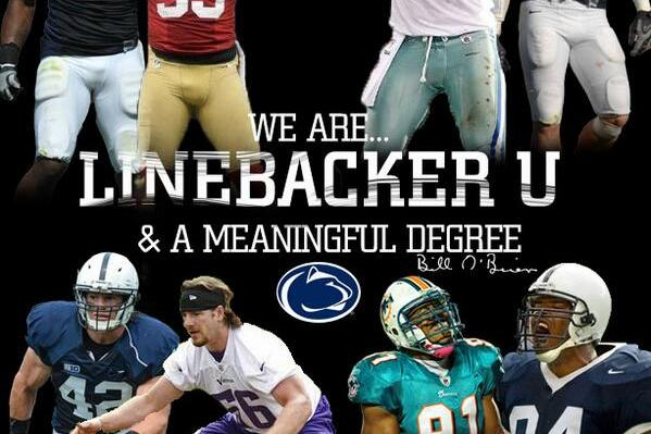 "PSU's Recruits Twitter Handle Fires Back at UCLA's Claim of ""Linebacker U"""