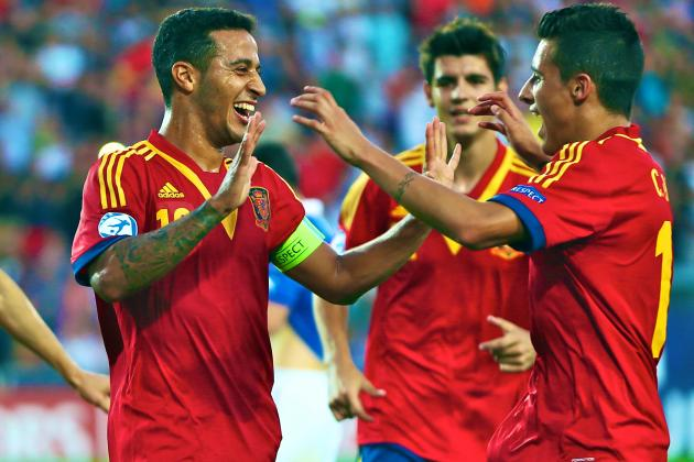 Does Thiago Alcantara Win His Barcelona Place with Under-21 Euro Victory?