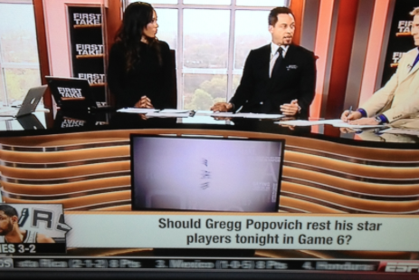 Here's the New Frontrunner for Dumbest Question in First Take History