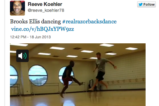 Video: Arkansas' Football Players Are Apparently Taking Ballet Classes