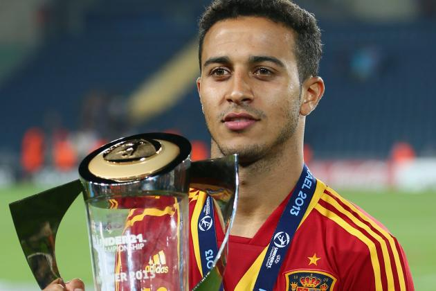 Why Thiago Alcantara Was the Star of the European Under-21 Championships