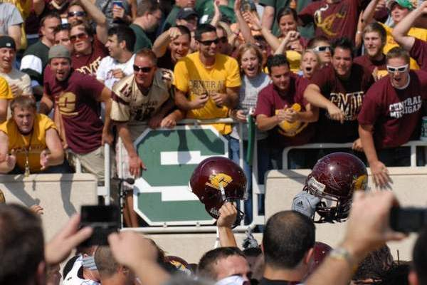 2016 Central Michigan Game Canceled