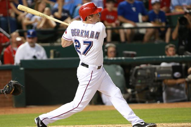 Berkman Returns to Lineup Tuesday; Andrus Day-off