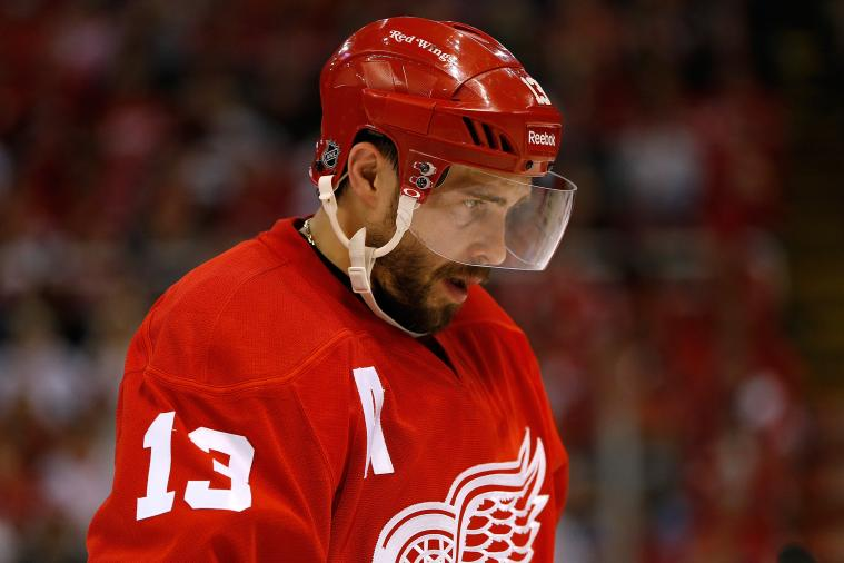 Pavel Datsyuk Talks About the Winter Classic, Red Wings and the NHL Draft