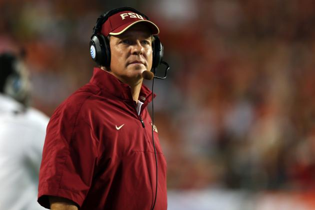 Do Brian Kelly and Jimbo Fisher's Tough Stances Help or Hurt Recruiting?