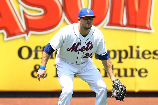 Lucas Duda Not in Lineup for Game 2 vs. Braves