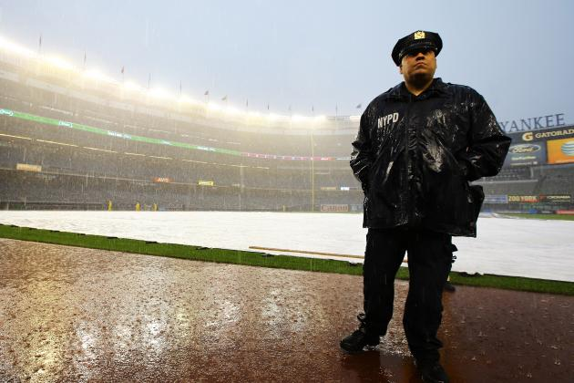Yankees vs. Dodgers Postponed Due to Rain