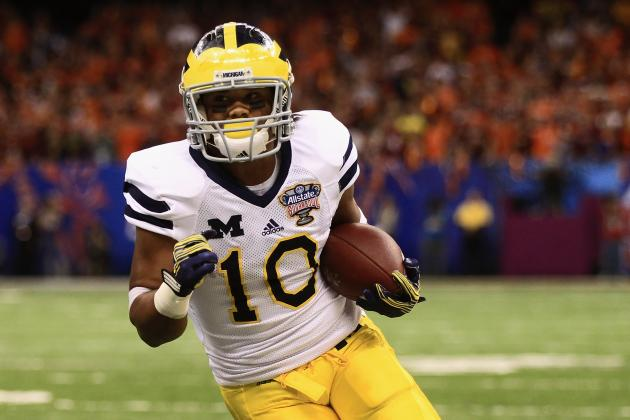 Michigan Football: Why WR Jeremy Gallon Could Be Wolverines' MVP in 2013