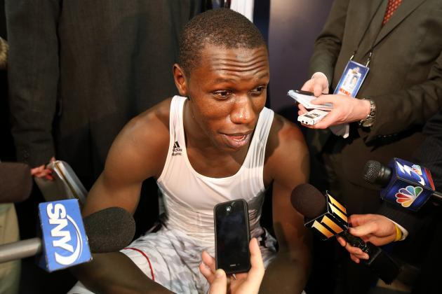 Dieng on Knicks: 'I Think I Can Fit In'
