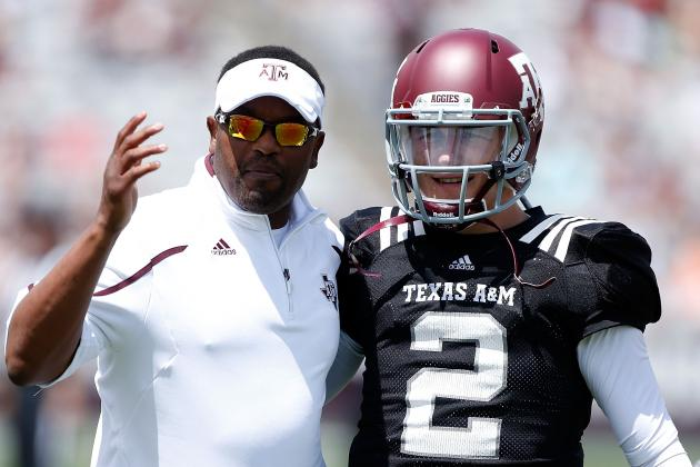 Should Texas A&M Coach Kevin Sumlin Be More Hands-On with Johnny Manziel?