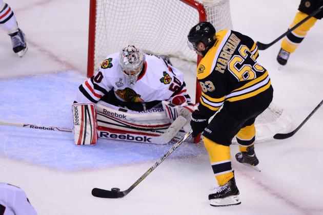 2013 Stanley Cup Final: Have the Boston Bruins Found Corey Crawford's Weakness?