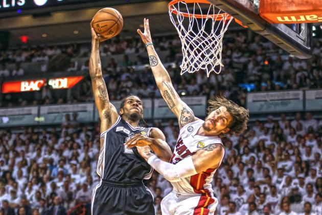Kawhi Leonard Puts Mike Miller on a Poster During Game 6