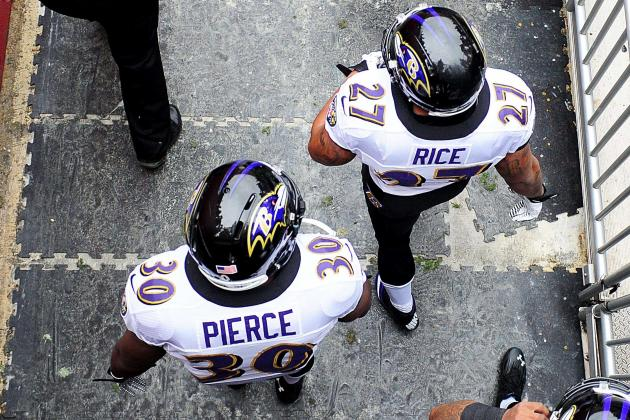 Will Ray Rice's Workload Decrease with the Emergence of Bernard Pierce?