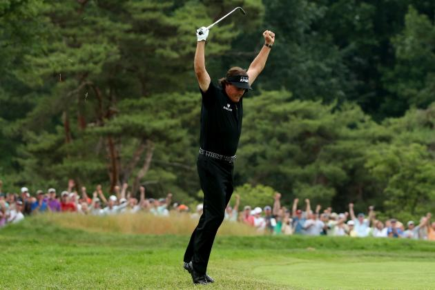 Phil, Tiger, Luke, Justin and Merion GC Produce a Surprising US Open Champ