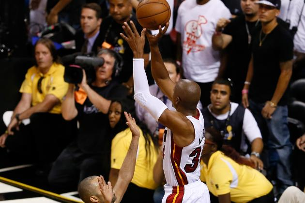 Video: Heat's Ray Allen Hits Three to Force Overtime in Game 6 Against Spurs