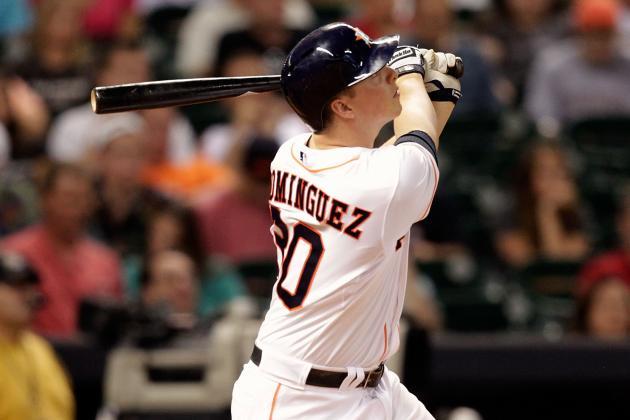 Dominguez's Slam Leads Astros Past Brewers