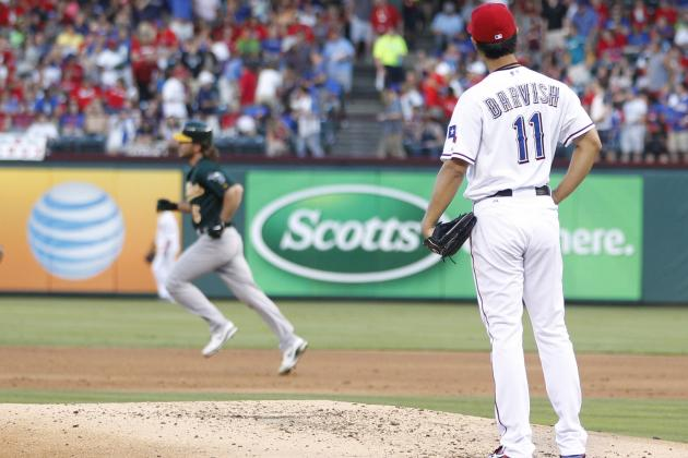 Yu Darvish Struggles as Texas Rangers Lose to Oakland