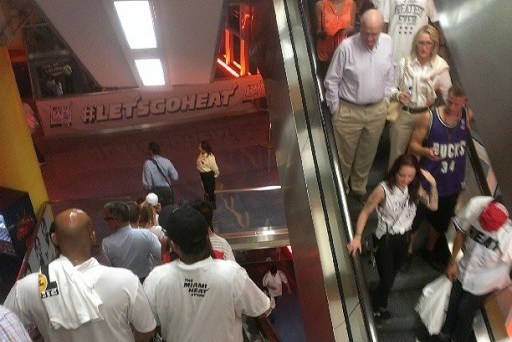 Miami Heat Fans Leave Early as Heat Send Must-Win Game 6