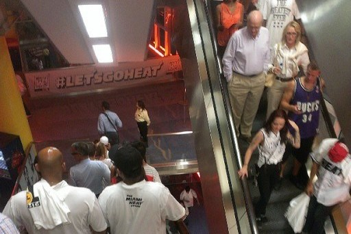 Miami Heat Fans Leave NBA Finals Game 6 Early