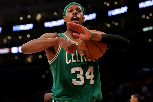 Should Boston Celtics Trade into 2013 NBA Draft Lottery Using Paul Pierce?