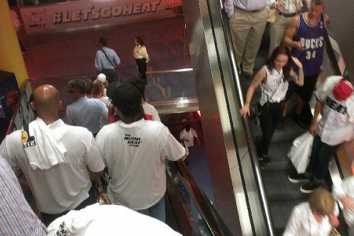 Miami Heat Fans Leave Game 6 Early and Miss Team's OT Win