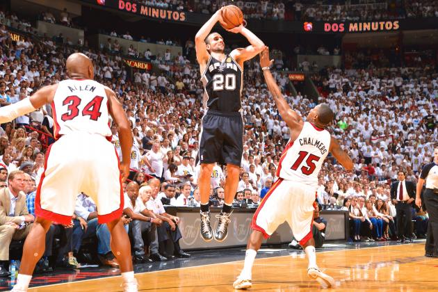 San Antonio Spurs Set Record for Most 3-Pointers in NBA Finals During Game 6