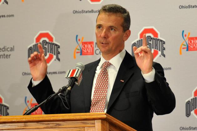 Urban Meyer on National Title Expectations: 'We're Not There Yet'