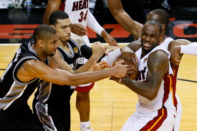 Spurs vs. Heat: Who Has the Edge Going into NBA Finals Game 7?