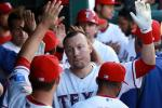 Rangers' Player Injures Himself High-Fiving, Hits Disabled List