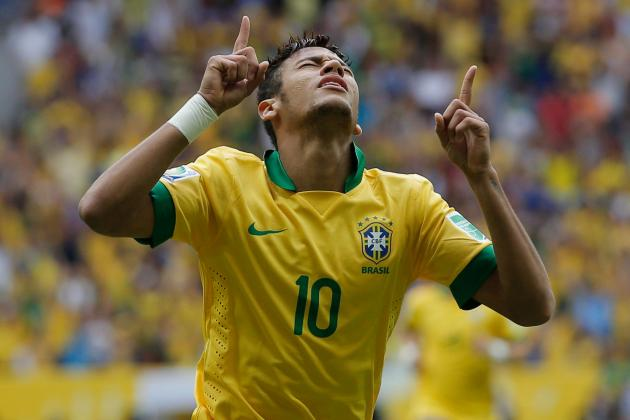 FIFA Confederations Cup 2013: Neymar, Mario Balotelli in Spotlight on Big Stage
