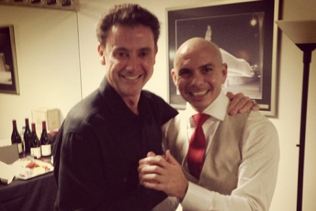 Louisville Cardinals Head Coach Rick Pitino Met Pitbull, His Favorite Artist
