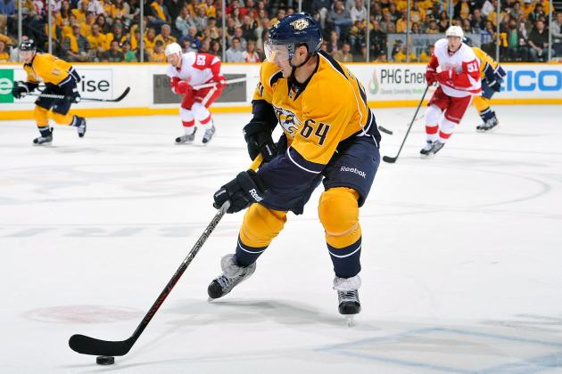 Predators Re-Sign D-Man Victor Bartley