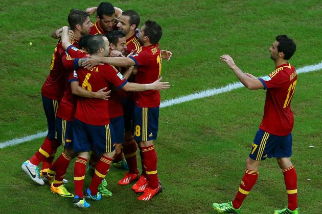 Spain vs. Tahiti: Date, Time, Live Stream, TV Info and Preview