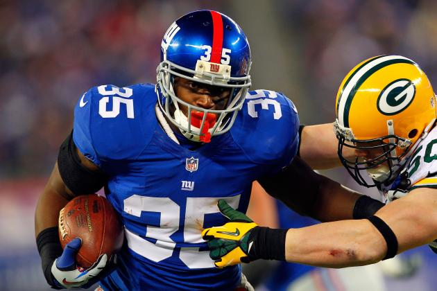 Will Giants RBs Share Carries Again?