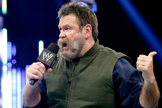 Zeb Colter, Antonio Cesaro and Mick Foley Featured on the Daily Show
