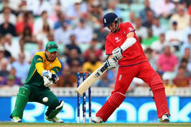 ICC Champions Trophy 2013: England vs. South Africa Semifinal Score and Recap